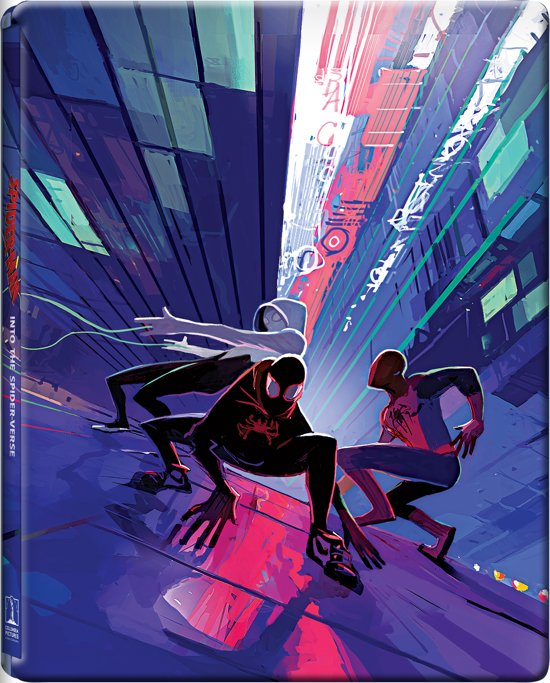Spider-Man: Into the Spider-Verse (Steelbook-Limited Edition) (Blu-ray)