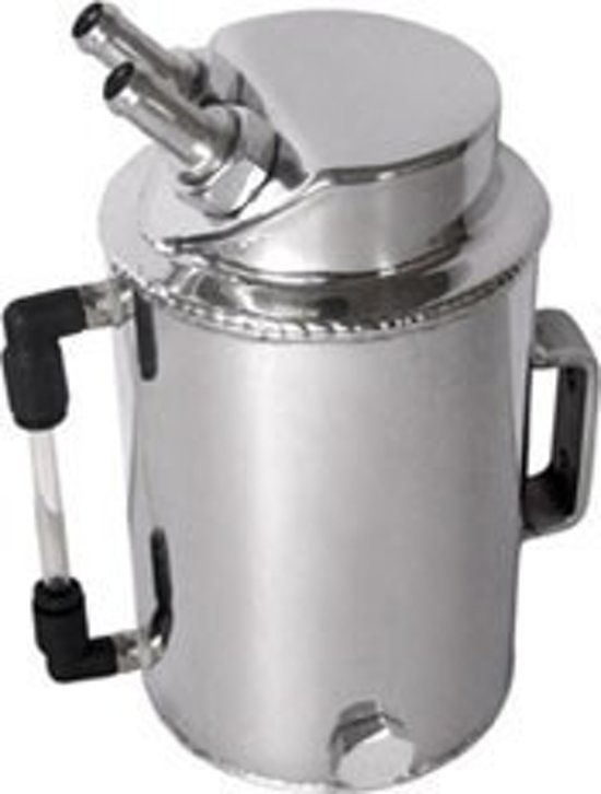 Aluminium olie catchtank 1 Liter