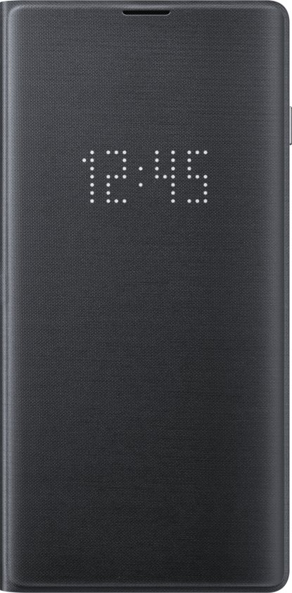 Samsung LED view cover - voor Samsung Galaxy S10 - Zwart