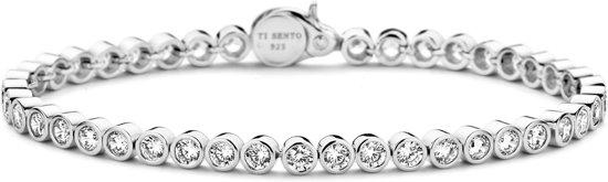 TI SENTO Milano Armband 2842ZI - Gerhodineerd Sterling Zilver