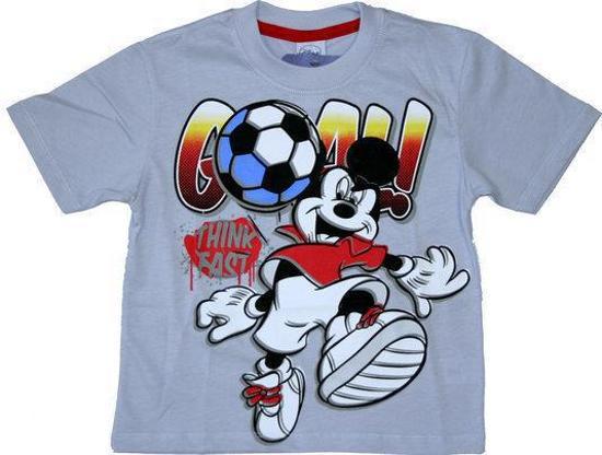Disney Mickey Mouse Jongens Voetbal T-shirt 104