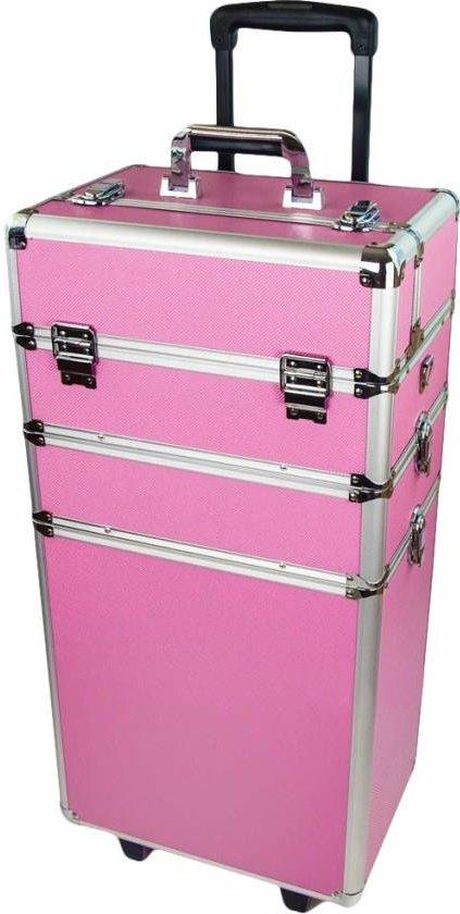 Ongebruikt bol.com | Trolley Nagelstyliste koffer Beautycase - Aluminium trolley WZ-86