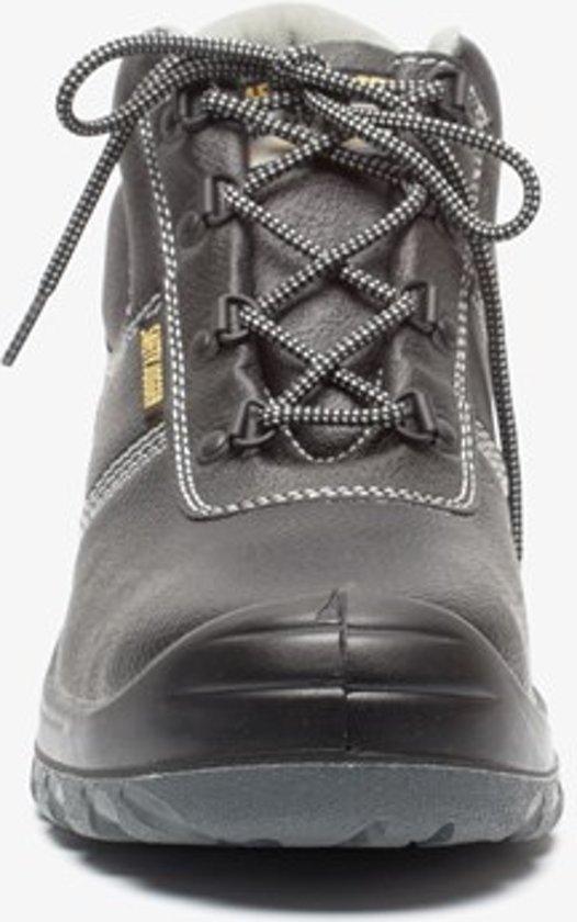 Safety Jogger bestrun leren werkschoenen Zwart Maat 40