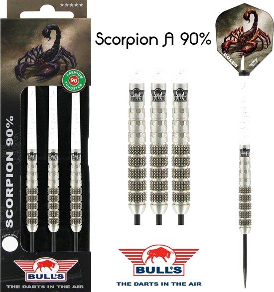 Bull's Scorpion A 90% 25 gram Steeltip Dartpijlen