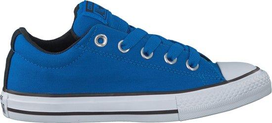 77db523692f bol.com | Converse Jongens Sneakers Ctas Street Slip Kids - Blauw ...