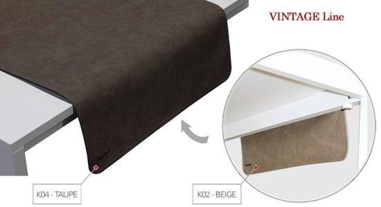 Pavelinni tafelloper Vintage 45x120cm Beige/Taupe