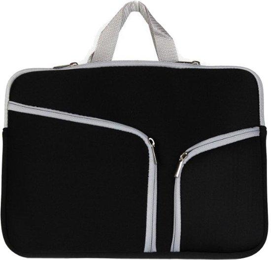 138fe37c7f5 bol.com | Mobigear Neopreen Laptoptas Zwart voor Macbook Air / Pro ...