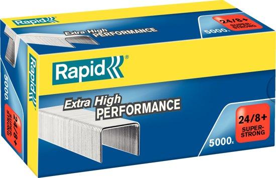 Rapid SuperStrong Nietjes 24/8+mm - 5000 stuks - Gegalvaniseerd