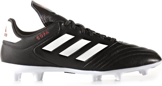 adidas Copa 17.3 FG  Voetbalschoenen - Maat 44 2/3 - Mannen - zwart/wit/rood