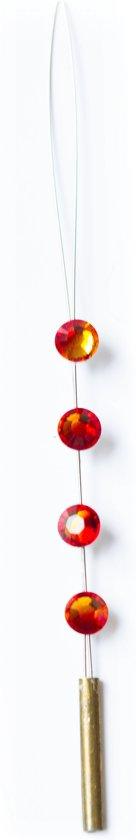 JwelU Haarkristallen BB2-20 Fire Opal