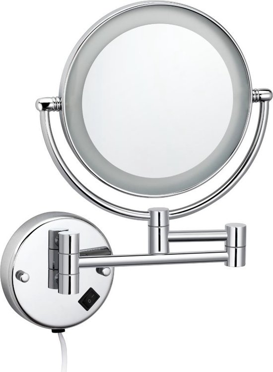 Cosmeticaspiegel Met Verlichting.Best Design Cosmeticaspiegel Incl Led Verlichting 20cm