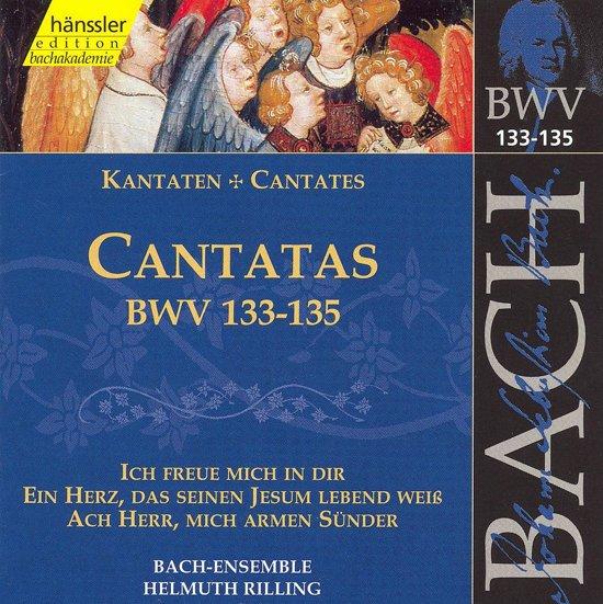 Cantatas BWV133-135