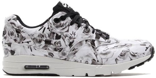 55831ea20bb bol.com | Nike Air Max 1 Ultra - Lotc New York - Wit/Zwart/Bloemen ...