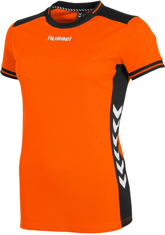 hummel Lyon Shirt Ladies Sportshirt Kinderen - Orange/Black
