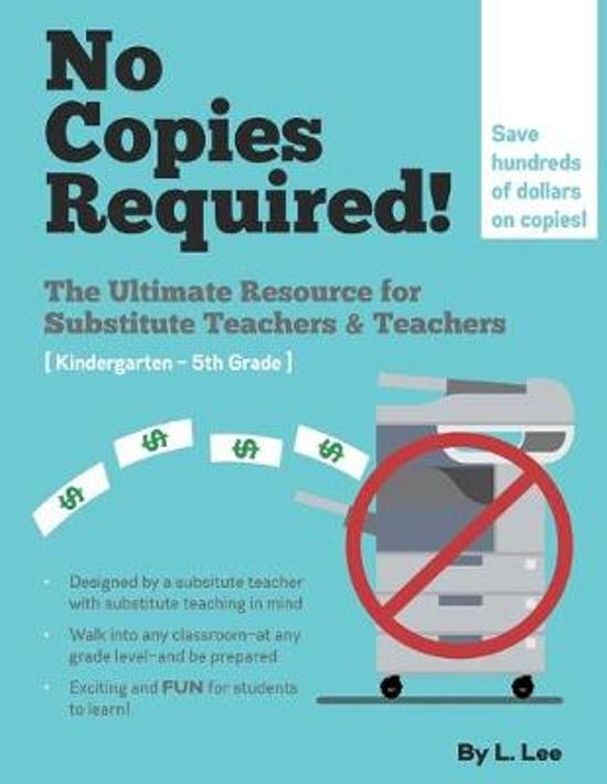 No Copies Required: Classroom Activities
