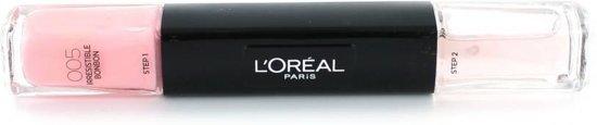 L'Oréal Paris Infallible Nail - 5 Irresistible Bon Bon - Roze - Nagellak