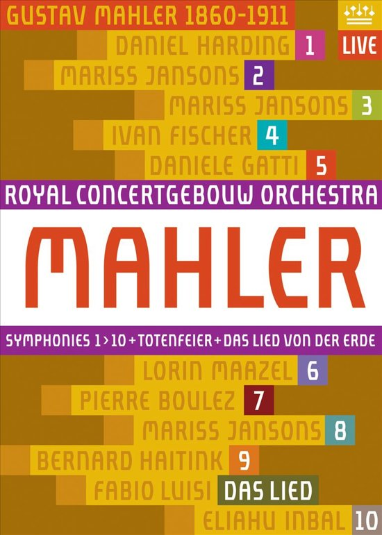 Mahler: Synphoniesnos. 1-10