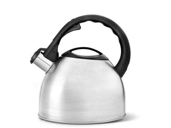 Bredemeijer Universal Fluitketel - 2.5 l - Zilver