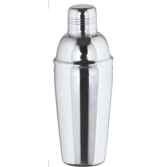 Cocktailshaker - 3-delig - 0.7 l - RVS