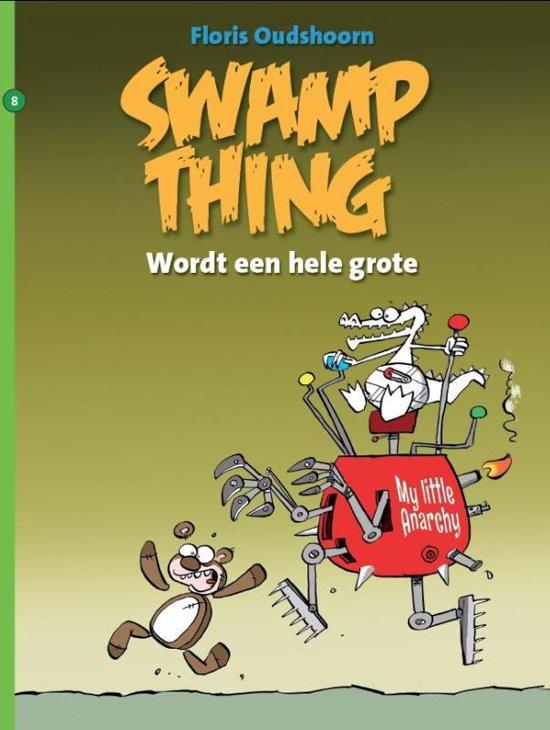 Swamp Thing 8 - Wordt een hele grote