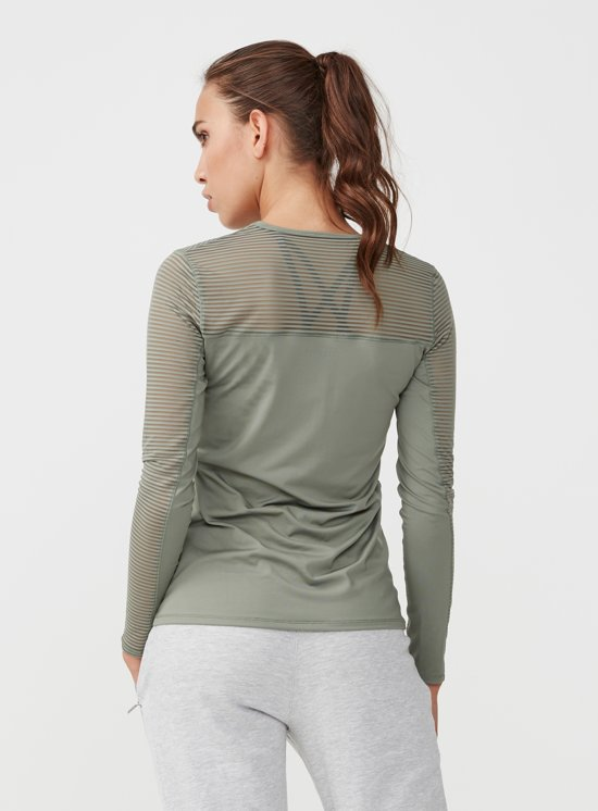 Long Röhnisch Dames Miko Combat Sleeve Green Sportshirt wOqfq0