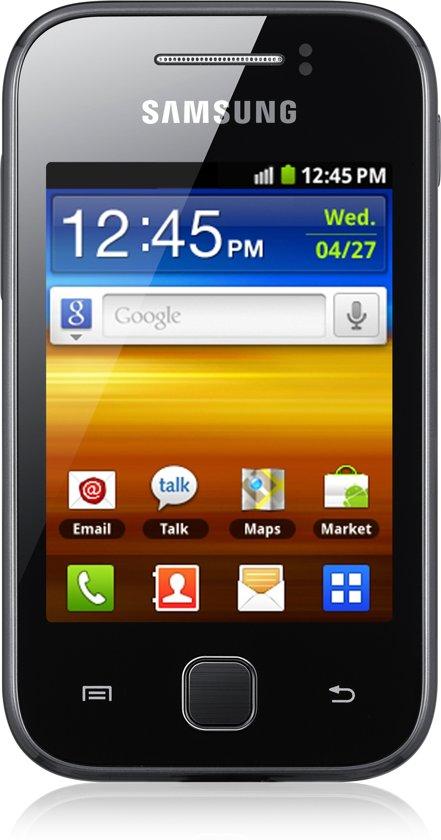 Samsung Galaxy Y - Zwart - Hi prepaid telefoon