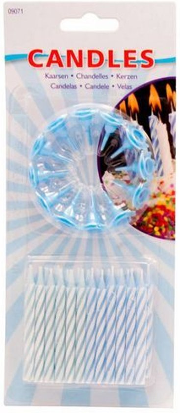kaarsjes taart bol.| Blauwe taart kaarsjes, Folat | Speelgoed kaarsjes taart