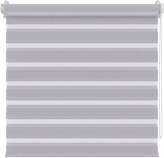 Roljaloezieën - Licht grijs - Lichtdoorlatend - 37x160 cm