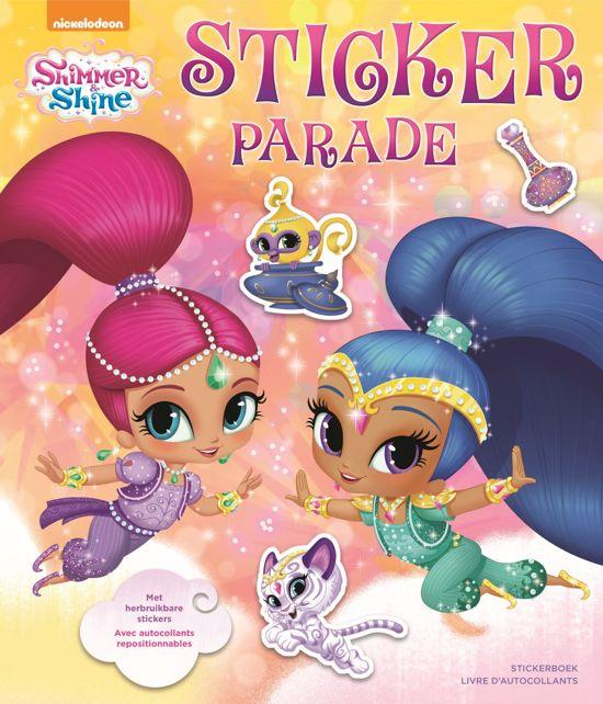 Afbeelding van het spel Shimmer and shine sticker parade