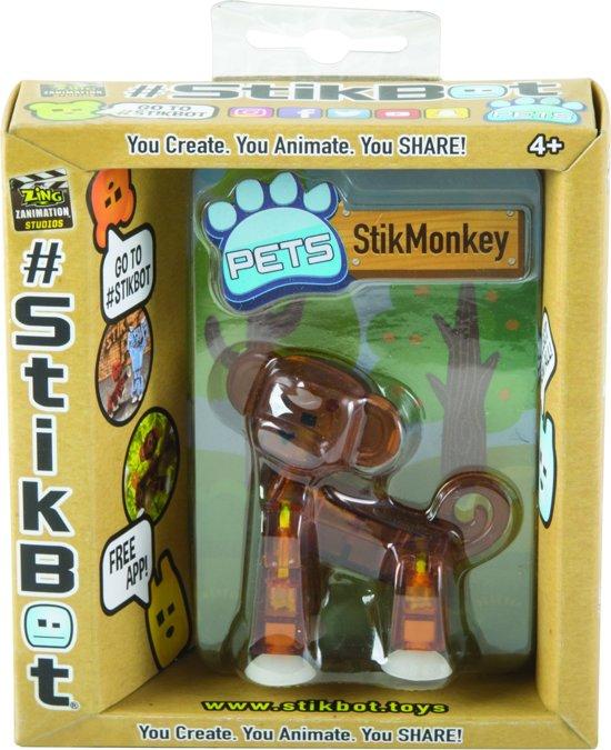 Afbeelding van het spel Stikbot Pet Monkey