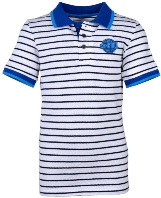 661fa3c9ba0ee7 Vingino Jongens t-shirts & polos Vingino Polo / Rugby Kelvinho wit 116