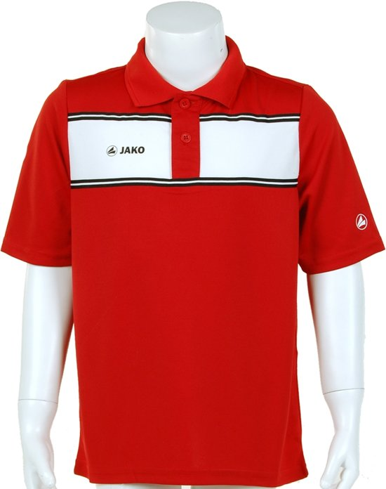 Jako Polo Player Junior - Sportpolo - Kinderen - Maat 140 - Red;White