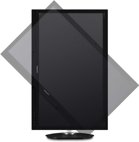"Philips Brilliance 275P4VYKEB 27"" 5K Ultra HD PLS Zwart, Zilver"