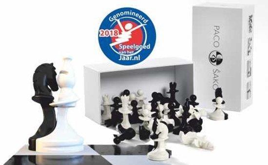 Paco Sako zwart/wit schaken