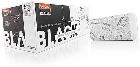 Satino black briq refill towel