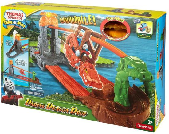 Fisher-Price Thomas de Trein Drakeneiland