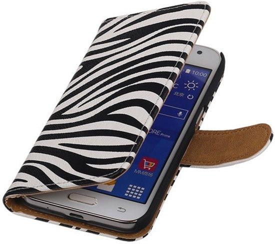 MP Case Zebra Samsung Galaxy Core Prime Bookcase Cover Wallet Hoesje in Leeuwarden / Ljouwert