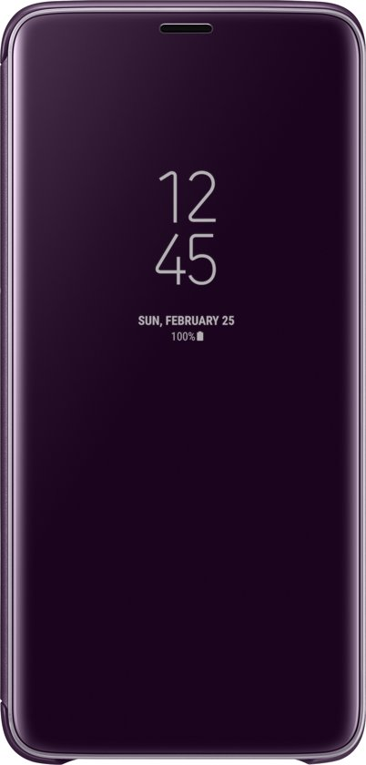 Samsung S9+ Clear View Standing Cover - Violet