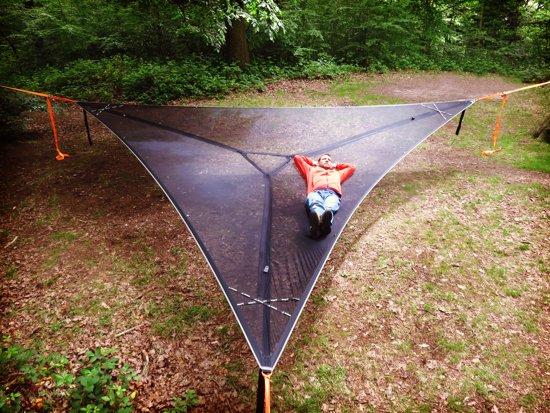 Boom Hangmat Trillium XL voor 6 personen - mesh