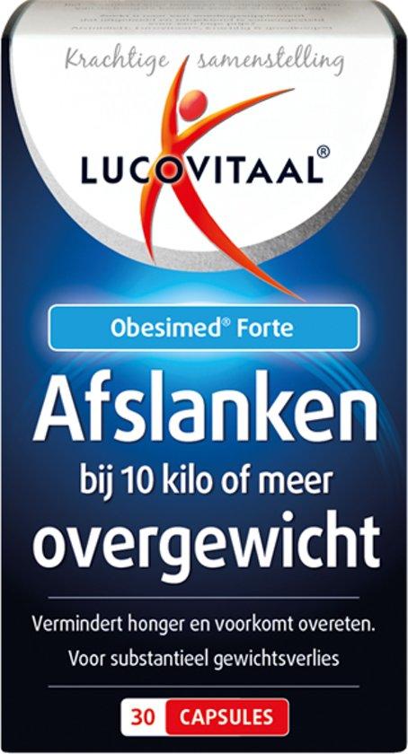 Lucovitaal - Afslanken bij 10 kilo of meer overgewicht - 30 capsules - Afslanksupplement