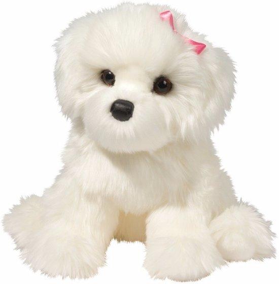 Pluche Bichon Frise hond knuffel 41 cm - knuffeldier / knuffels