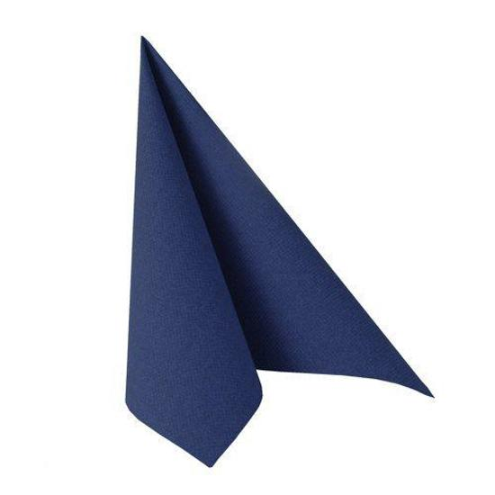 Papstar Servetten Royal Collection servetten donkerblauw 40 x 40 cm