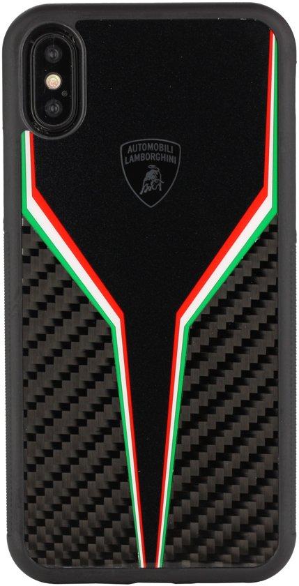 Lamborghini backcover D2 Serie Apple iPhone XR - Zwart