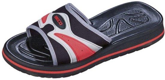 Beco Slippers Zwart Unisex Maat 45