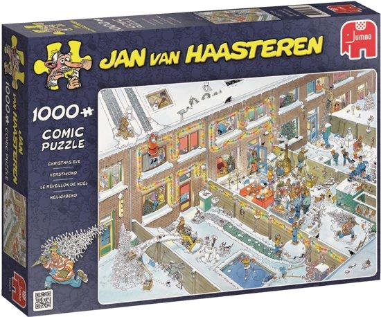 Jan van Haasteren Kerstavond - Puzzel 1000 stukjes