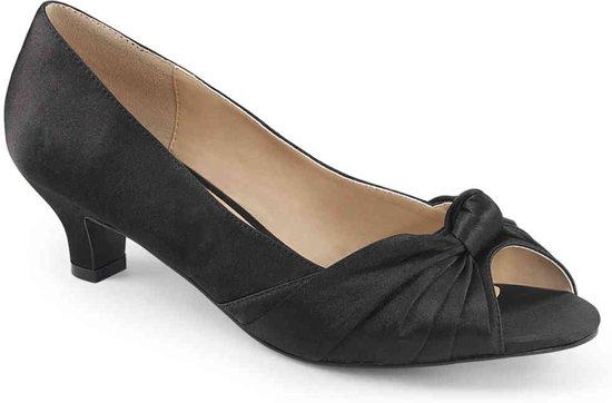 Pleaser Pink Label Hoge hakken -44 Shoes- FAB-422 Zwart