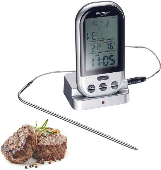 Westmark Digitale Braadthermometer - 13 x 7,6 x 5,5 cm - Grijs