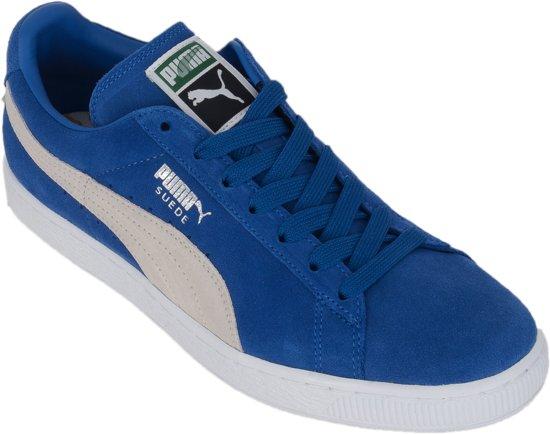 Chaussures De Sport Puma Suede Classic + Pour Les Hommes, Bleu, Taille: 42