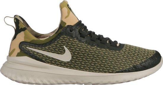 Nike Renew Rival Camo Sportschoenen Heren - Sequoia/Lt Orewood Brn-Med Oli - Maat 44.5