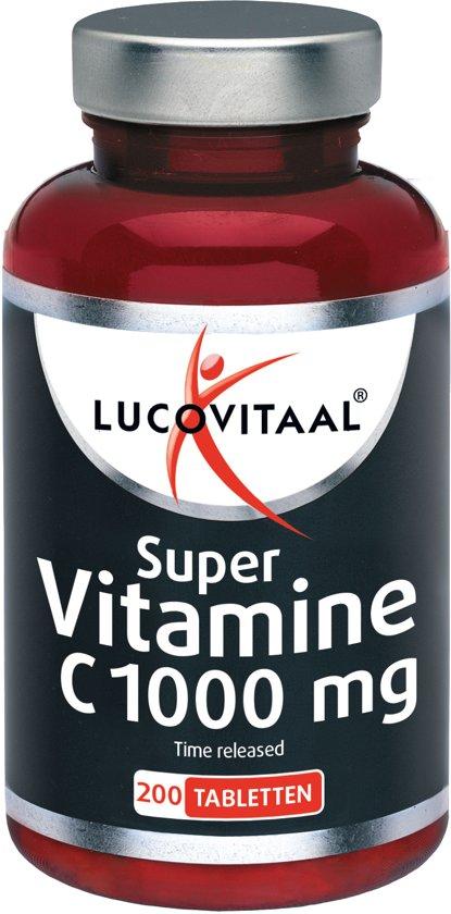 Lucovitaal - Vitamine C 1000mg - 200 tabletten - Voedingssupplementen